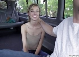 Haley Is Surprised, When She Sees That Monster Cock