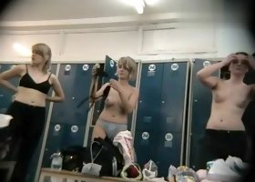 Hidden Camera Video. Dressing Room N 609