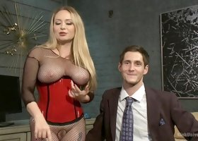 Hottest anal, fetish adult clip with best pornstars Aiden Starr and Tony Orlando from Kinkuniversity