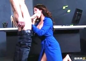 Beauteous brunette mom Capri Cavanni is blowing my dicks