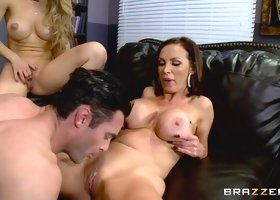 Nicole Aniston & Nikki Benz & Charles Dera in One Last Shot - Brazzers