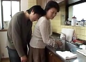 Hot Japanese Mom and younger guy 22