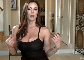 Beautiful MILF called Kendra is getting bonked on a comfy couch