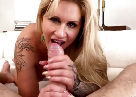 Quality Time With Tattooed Milf