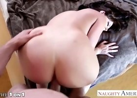 Huge tits and ass babe Sophie Dee fucked passionately