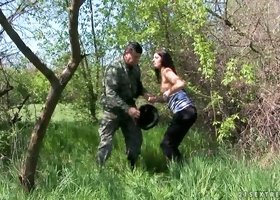 The Master Hunter Finds Himself A Hot & Horny Teen