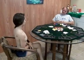 playing poker with daddy