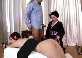 Threesome sex video featuring Mira Sunset and Ivana Sugar