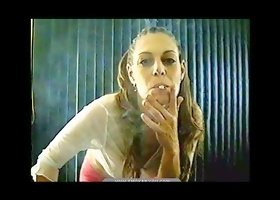 Compilation of amateur smoking girl